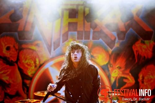 Anthrax op Alcatraz Metal Festival 2013 foto