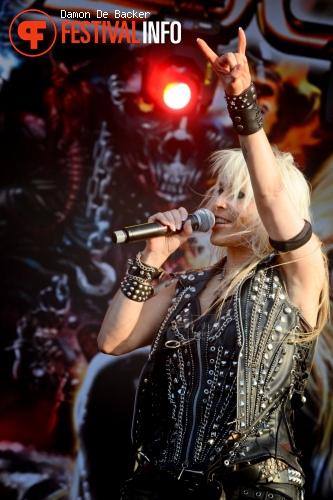 Foto Doro op Alcatraz Metal Festival 2013