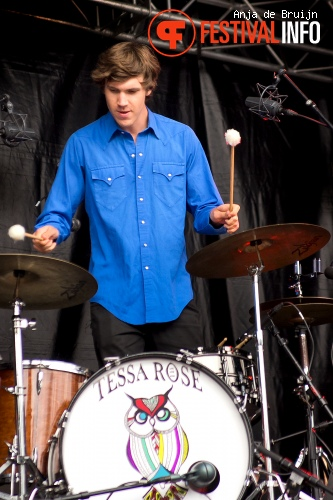 Tessa Rose Jackson op Waterpop 2013 foto