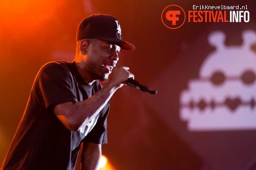 Kendrick Lamar op Lowlands 2013 - dag 1 foto