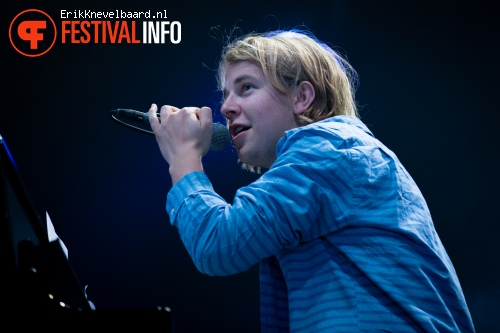 Foto Tom Odell op Lowlands 2013 - dag 1
