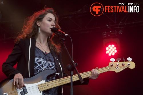 Foto Tessa Rose Jackson op Appelpop 2013