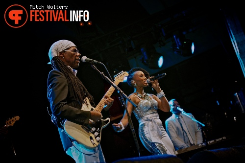 Foto Nile Rodgers & Chic op Into The Great Wide Open 2013 - dag 1
