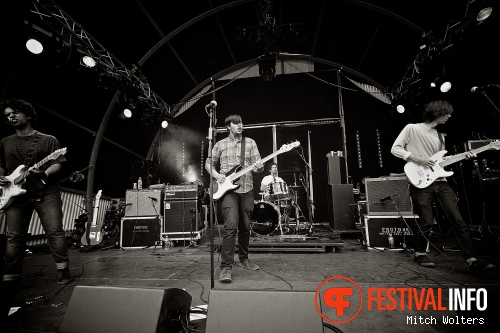 Foto Parquet Courts op Into The Great Wide Open 2013 - dag 2