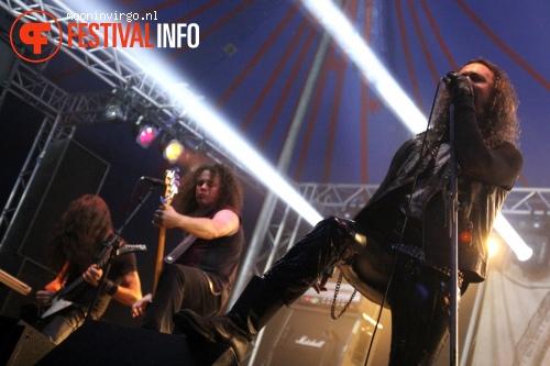 Moonspell op Baroeg Open Air 2013 foto