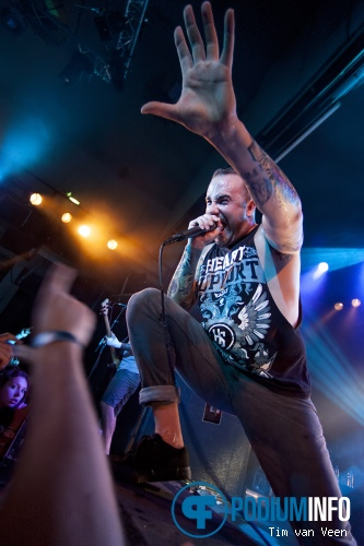 August Burns Red op August Burns Red - 12/9 - Tivoli foto
