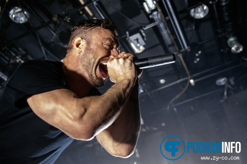 The Dillinger Escape Plan op Dillinger Escape Plan - 26/10 - Melkweg foto