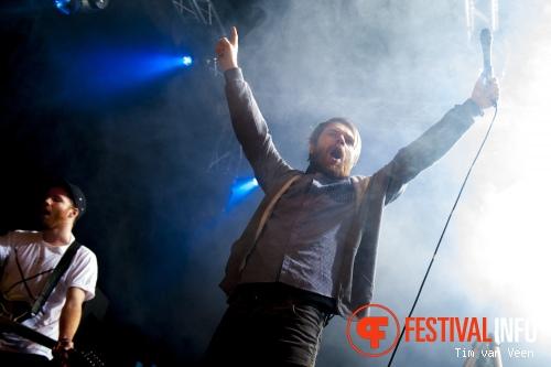 Foto Enter Shikari op Vans Warped Tour NL 2013
