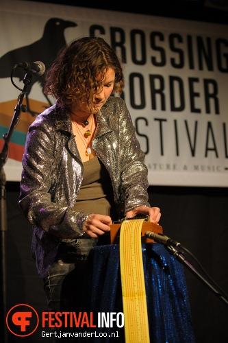 Dorien Meijsing op Crossing Border 2013 foto