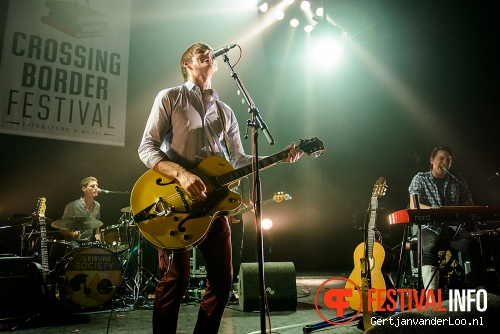 Foto The Leisure Society op Crossing Border 2013