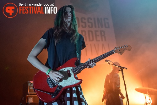 Foto Warpaint op Crossing Border 2013