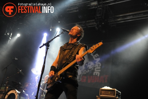 Anti Nowhere League op Speedfest 2013 foto