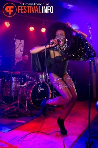 Lulu James op Eurosonic 2014 (donderdag) foto