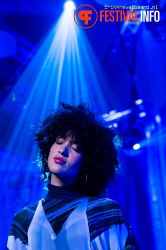 Foto Kris Berry & Perquisite op Noorderslag 2014