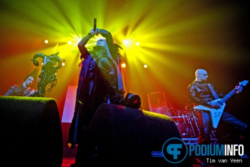 Foto Cradle Of Filth op Behemoth + Cradle of Filth - 9/2 - Melkweg