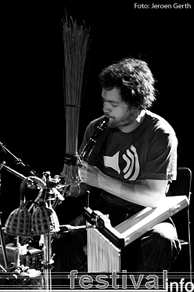 Foto Tunng op Eurosonic 2007