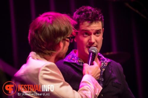 Les Djinns op Pinkpop Persconferentie 2014 foto