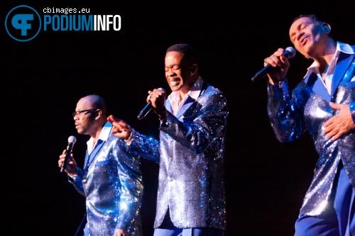 Four Tops op The Four Tops + The Temptations - 14/3 - HMH foto