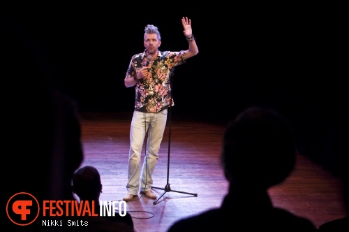 Arjen van Wifferen op Utrecht International Comedy Festival 2014 foto