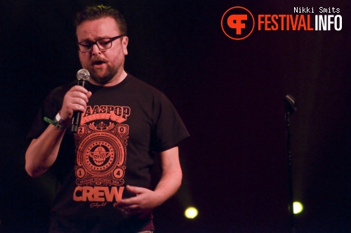 Arie Koomen op Utrecht International Comedy Festival 2014 foto