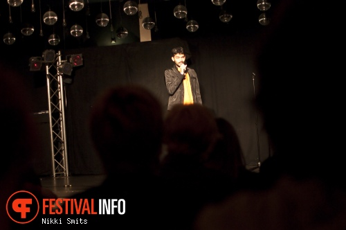 Kunal Rao op Utrecht International Comedy Festival 2014 foto