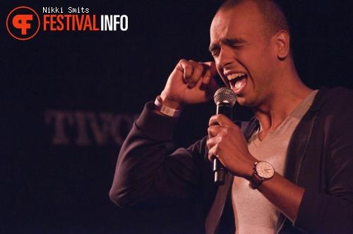 Foto Leon van der Zanden op Utrecht International Comedy Festival 2014