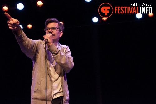 David Duff op Utrecht International Comedy Festival 2014 foto