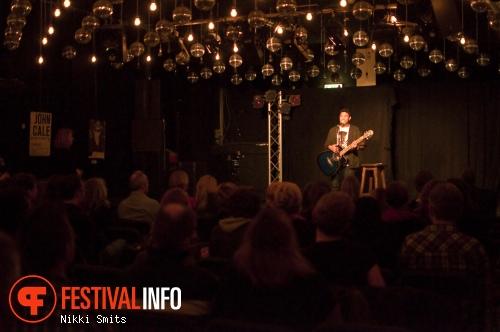Foto Abish Mathew op Utrecht International Comedy Festival 2014