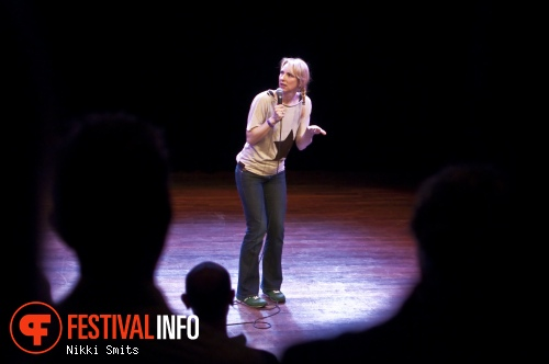 Dian Liesker op Utrecht International Comedy Festival 2014 foto