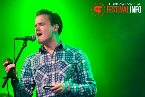 Sugar Boy & the Sinners op Life I Live Festival 2014 foto