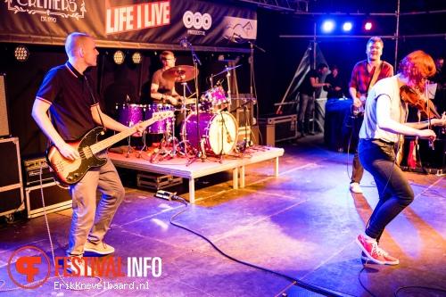 Foto Town of Saints op Life I Live Festival 2014