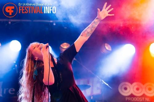 Layla Zoe op Life I Live Festival 2014 foto
