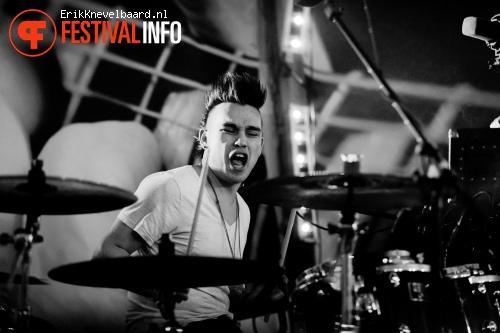 Jett Rebel op Life I Live Festival 2014 foto