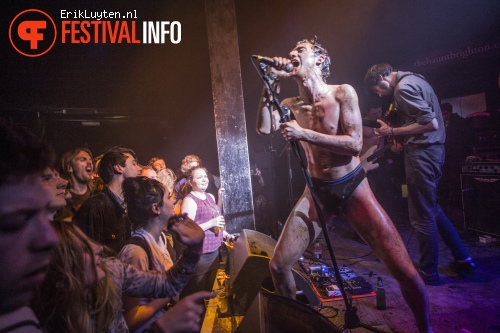 Fat White Family op The Great Escape 2014 foto