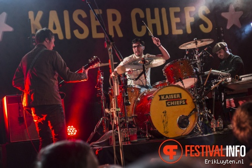 Kaiser Chiefs op The Great Escape 2014 foto