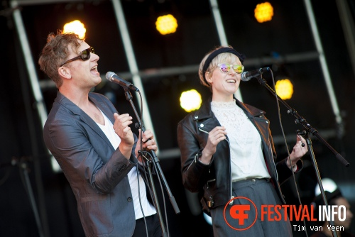 Knalland op Bevrijdingsfestival Utrecht 2014 foto