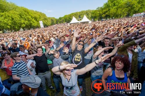 Great Minds op Bevrijdingsfestival Utrecht 2014 foto
