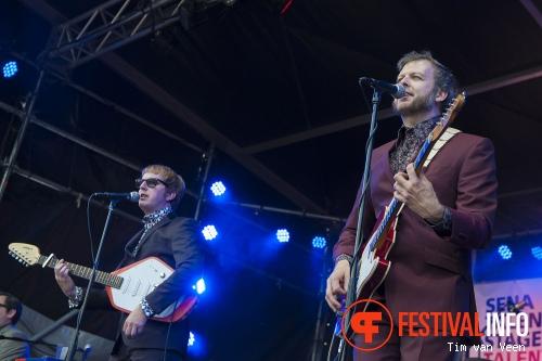 Foto The Kik op Bevrijdingsfestival Utrecht 2014