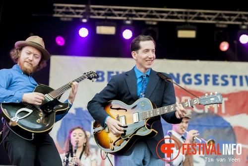 Pokey Lafarge op Bevrijdingsfestival Utrecht 2014 foto