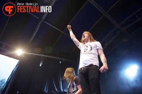 John Coffey op Bevrijdingsfestival Overijssel 2014 foto