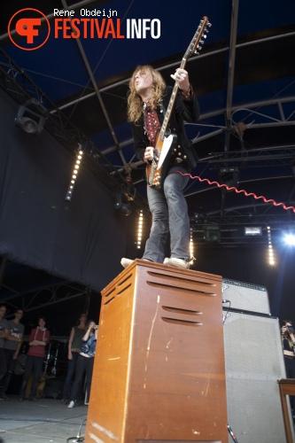 Foto DeWolff op Bevrijdingsfestival Overijssel 2014
