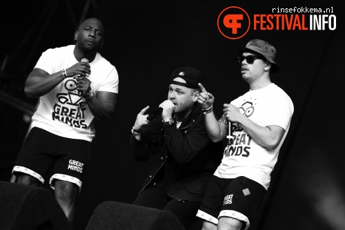 Great Minds op Bevrijdingsfestival Overijssel 2014 foto