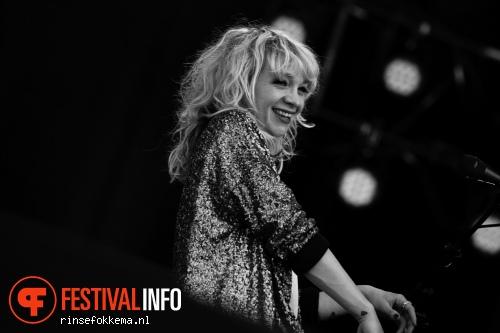 Jacqueline Govaert op Bevrijdingsfestival Overijssel 2014 foto
