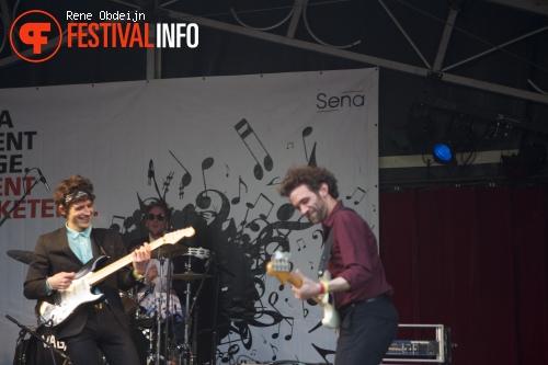 The Vagary op Bevrijdingsfestival Overijssel 2014 foto
