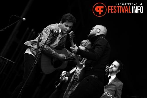 Foto Douwe Bob op Bevrijdingsfestival Overijssel 2014