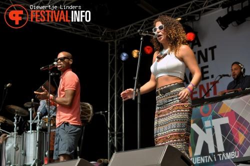 Foto KUENTA op Bevrijdingsfestival Den haag