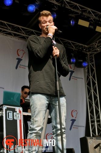 Gers Pardoel op Bevrijdingsfestival Den haag foto