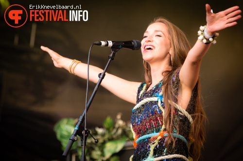 Foto Crystal Fighters op Indian Summer Festival 2014