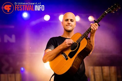 Foto Milow op Indian Summer Festival 2014
