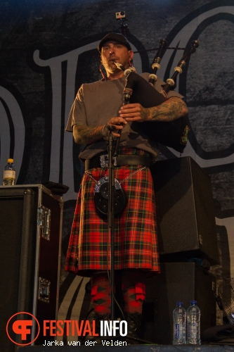 Dropkick Murphys op Jera On Air 2014 - Dag 2 foto